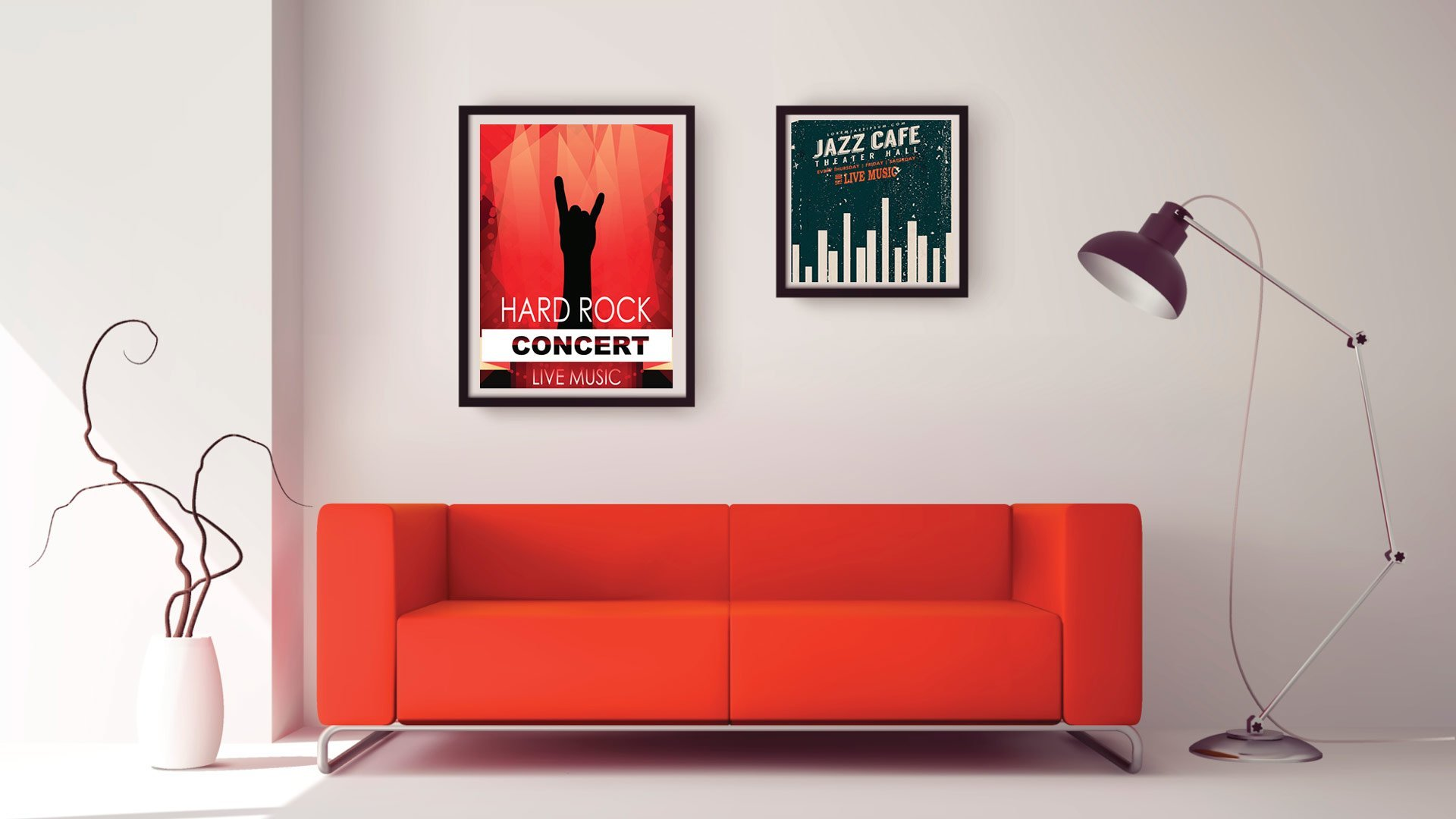 Ready Made Poster Frames | Ashgrove | Frame Warehouse