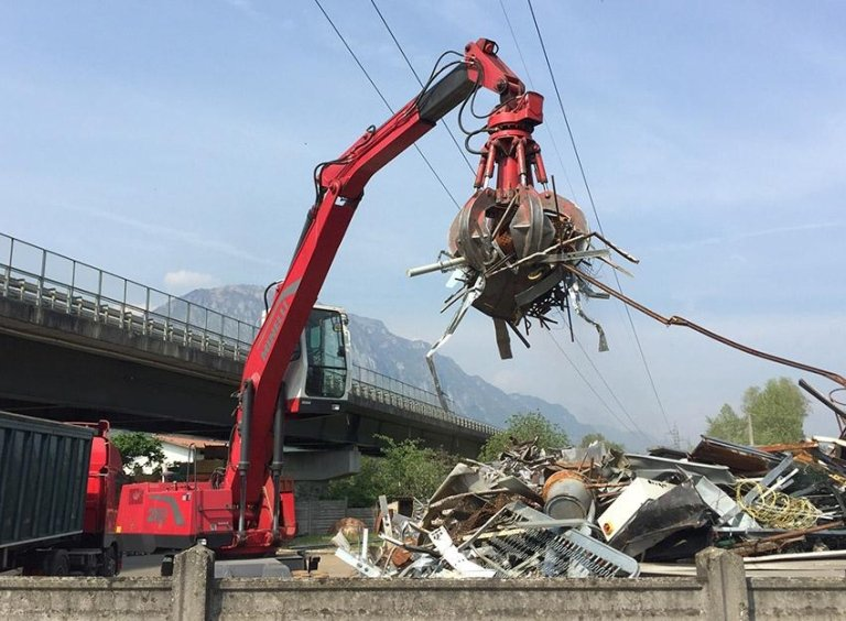 recupero rifiuti metallici