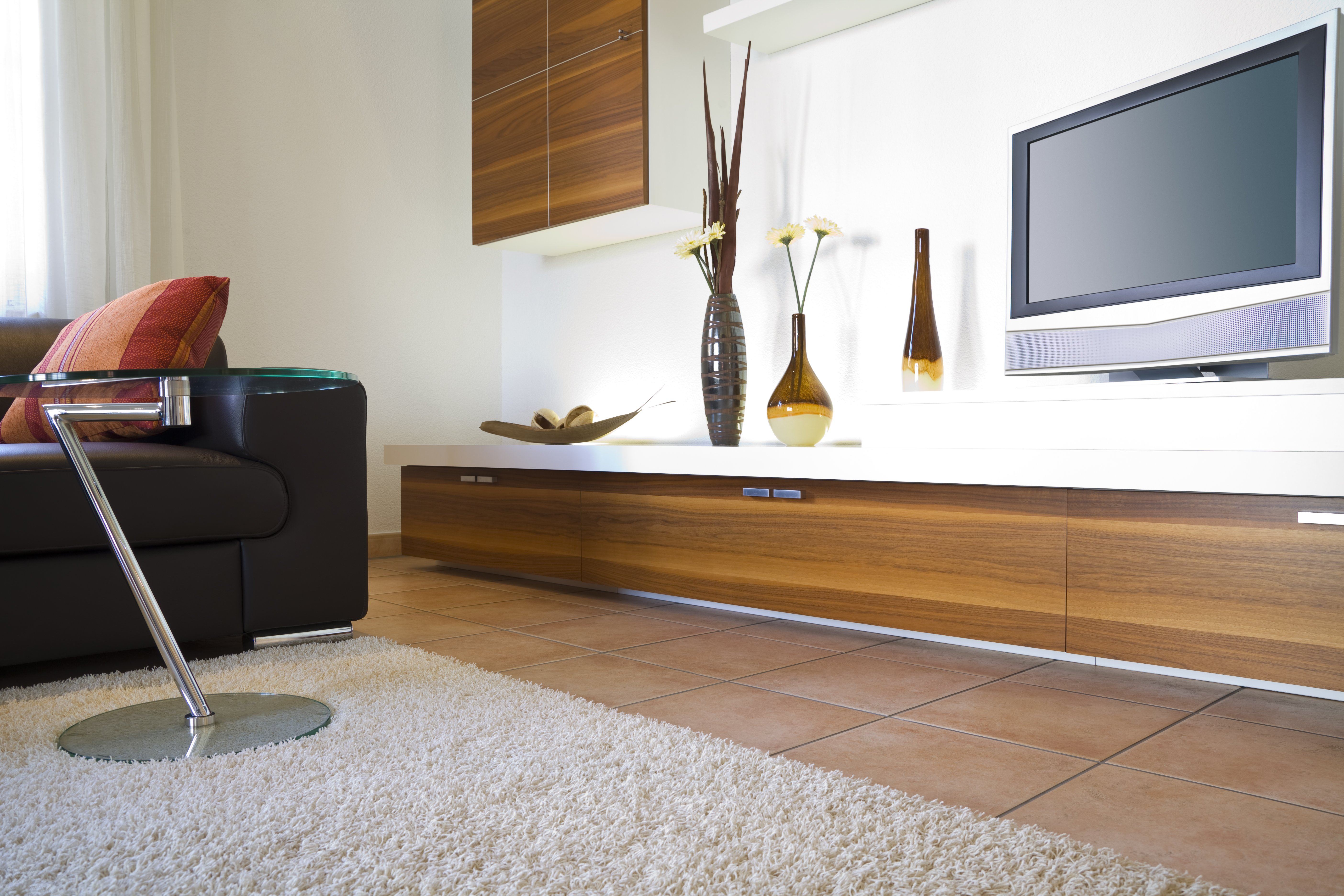 Carpet and furnished interiors