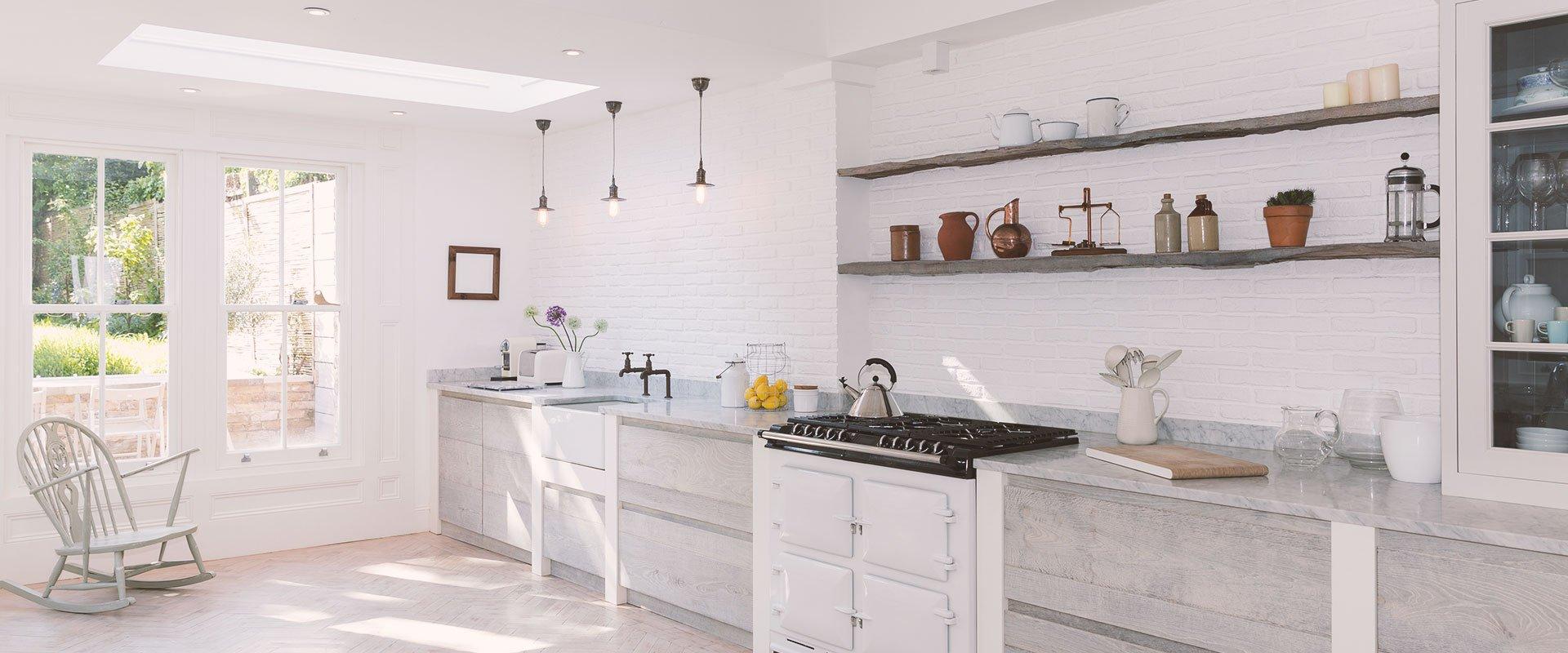 Installed kitchen