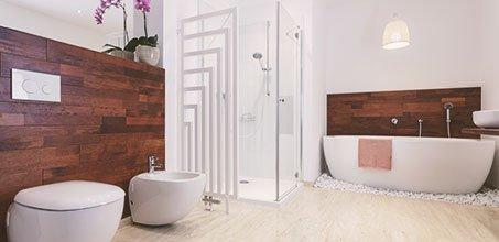 Bathroom wood works