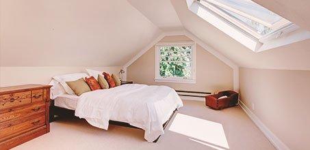 Furnished loft conversion