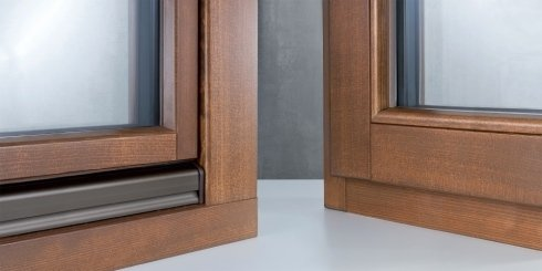 infissi in legno alluminio
