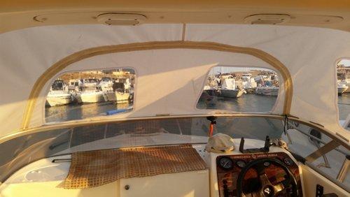 Interni imbarcazioni ad Amantea