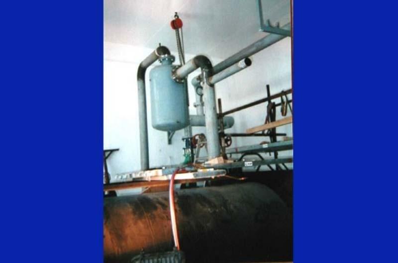 impianti di riscaldamento  industriale