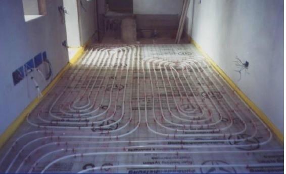 impianto riscaldamento a pavimento