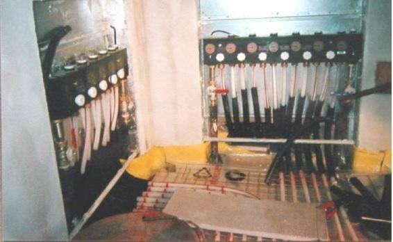 impianto riscaldamento battiscopa