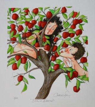 grafica Porro Eva e Adamo