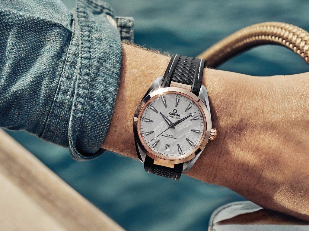 THE SEAMASTER AQUA TERRA GENTS' COLLECTION