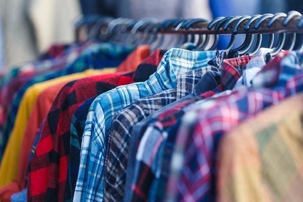 reparto abbigliamento