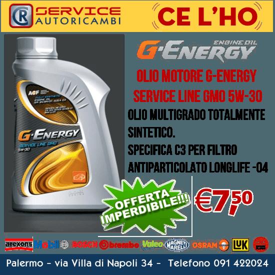 olio motore g-energy