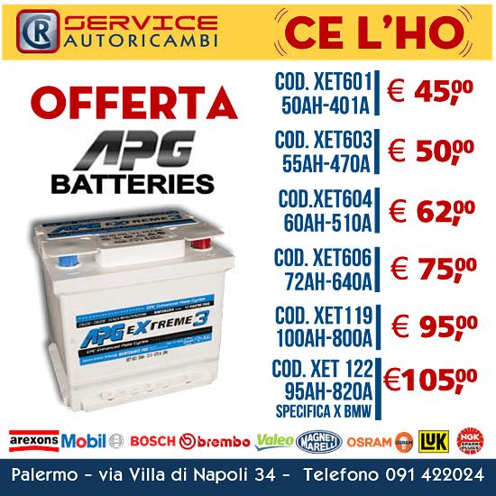 Batterie APG