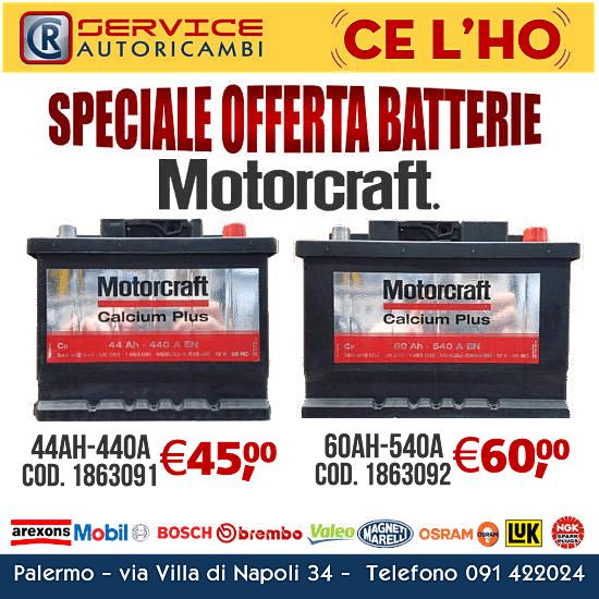 Offerte batteria motorcraft