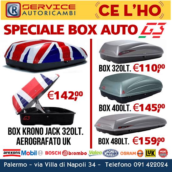 Speciale box auto