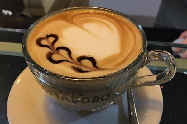 Cappuccino decorato
