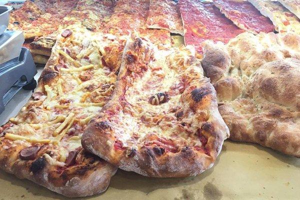 Tranci di pizza