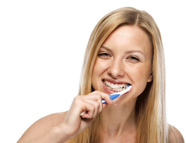 absolute smiles brushing teeth