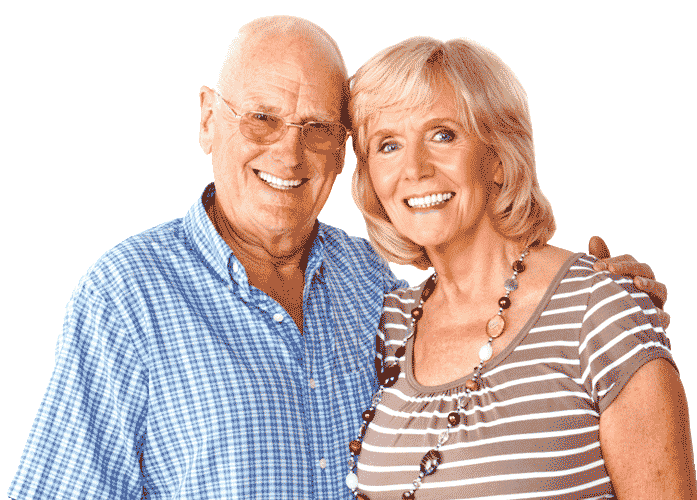 absolute smiles old couple