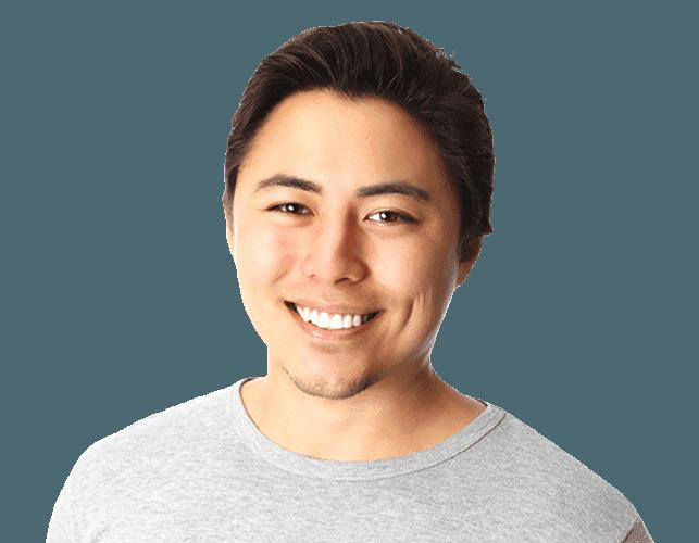 man smile metal free filling