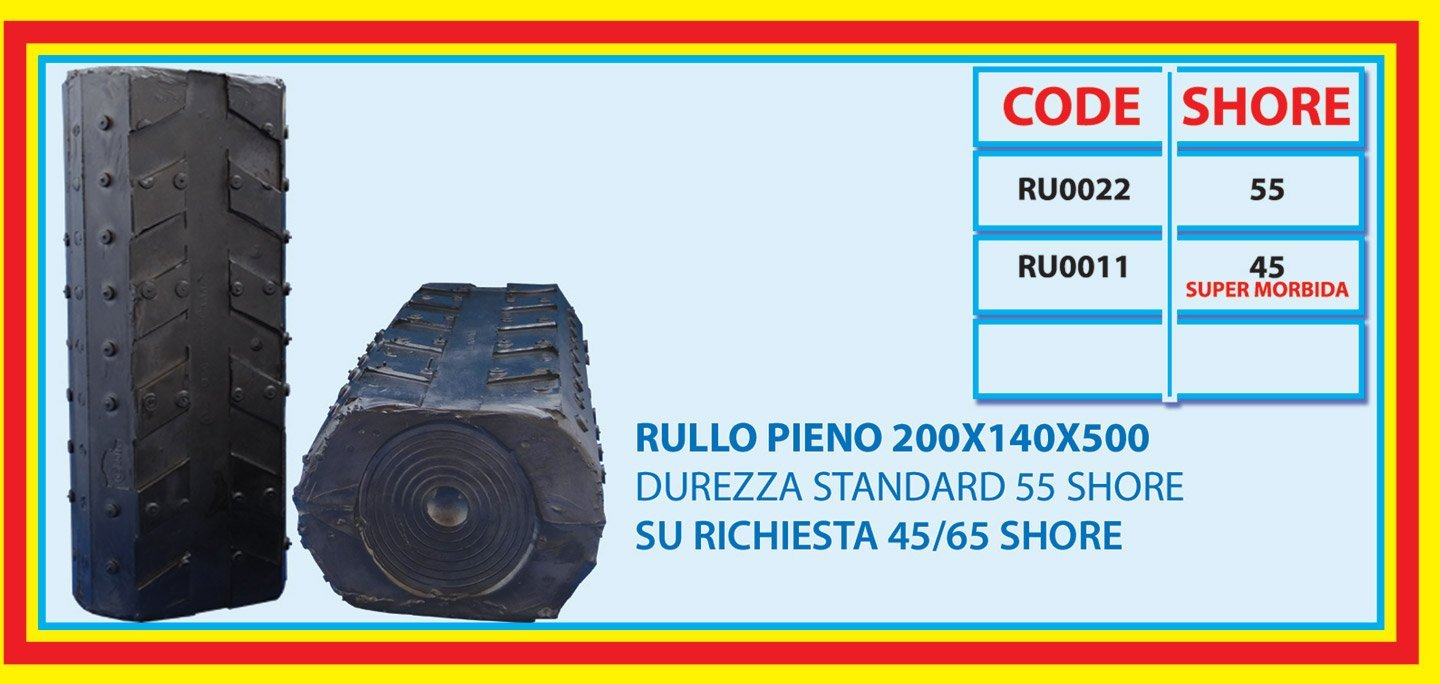 solid roll 200X140X500