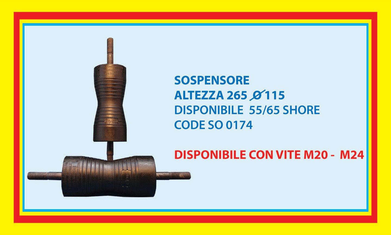 suspension height 265