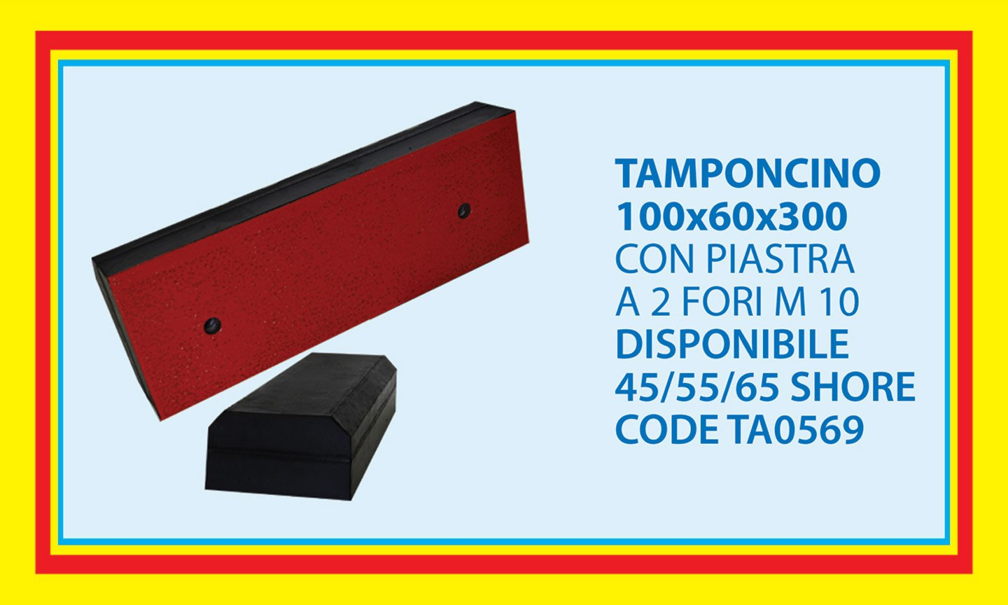 tamponcino 100X60X300
