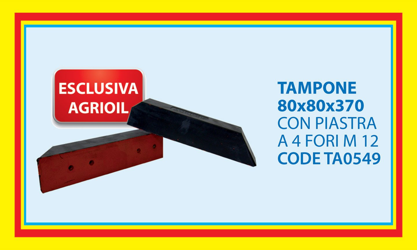 tampone 80X80X370