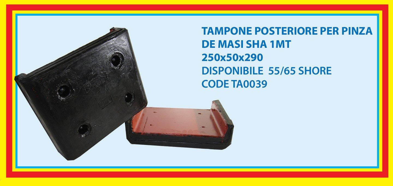 rear pad for DE MASI gripper