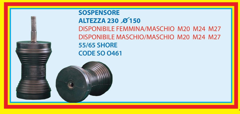 suspension height 230