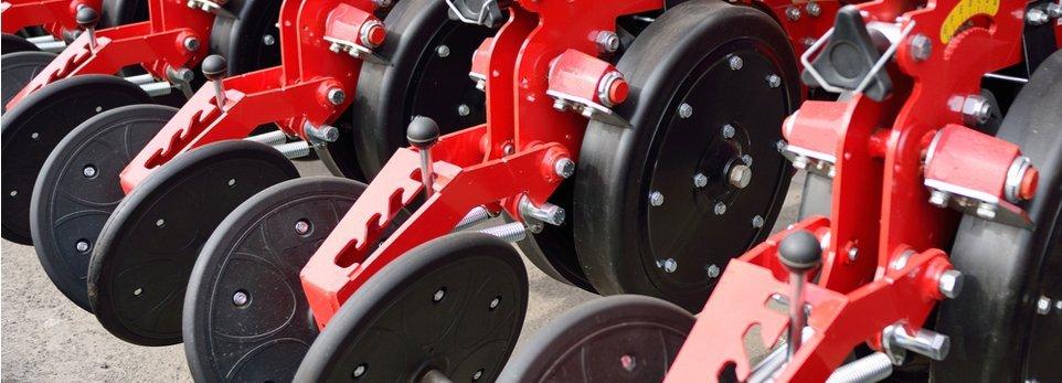 componenti in gomma per macchinari agricoli