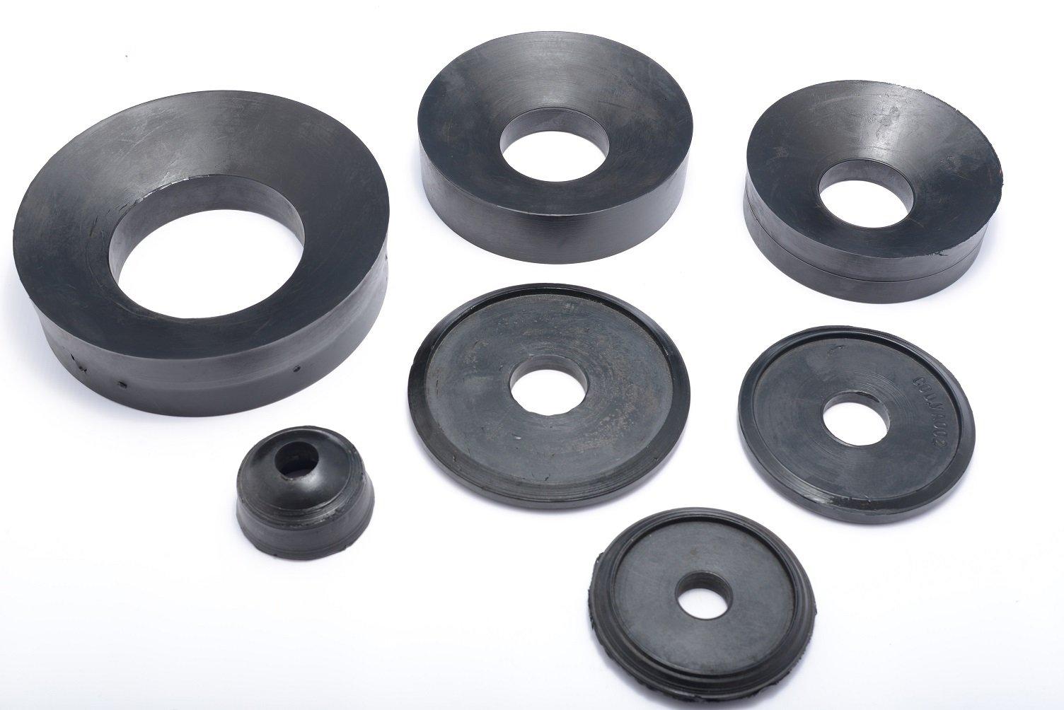 black rubber