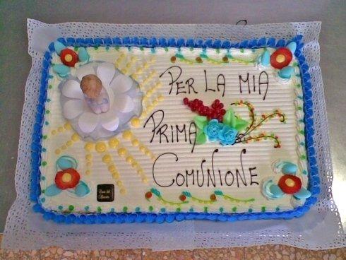 torte prima comunione