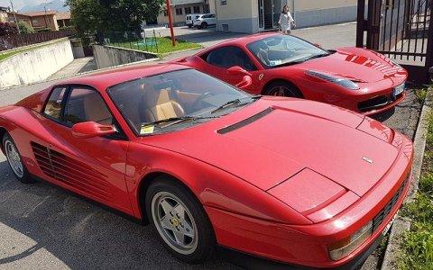 Noleggio Ferrari Testarossa
