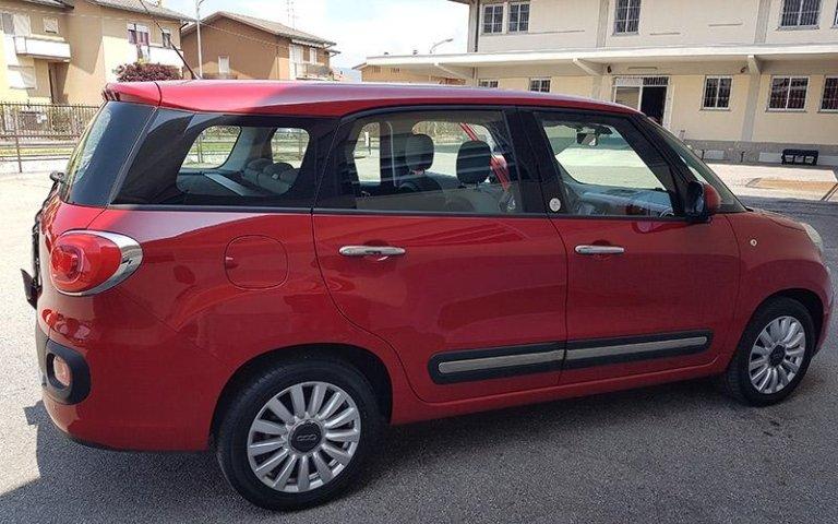 Noleggio Fiat Cinquecento L