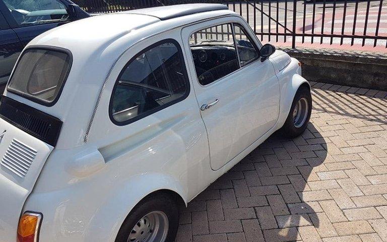 Noleggio Fiat Cinquecento storiche