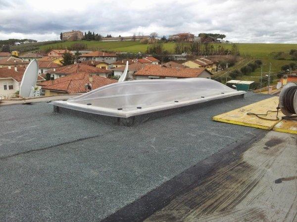 nuovo lucernaio tetto