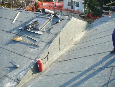 Realizzazione impermeabilizzazione tetti