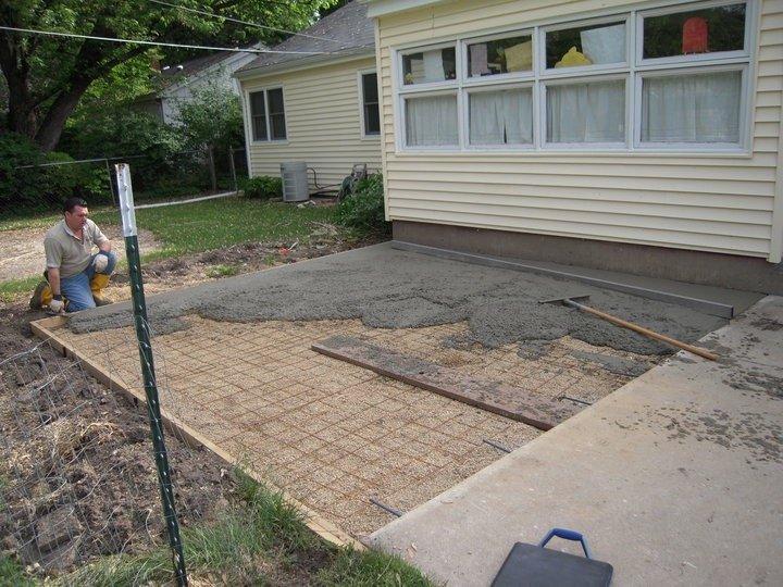 rockford concrete driveway