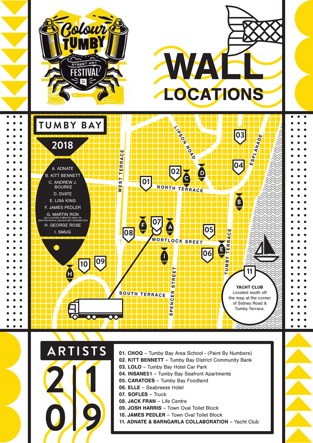 Tumby Bay COLOUR TUMBY street art festival