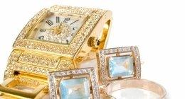 orologi di diamanti, anelli d'oro, anelli d'oro