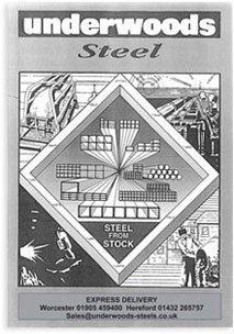 underwoods steel poster
