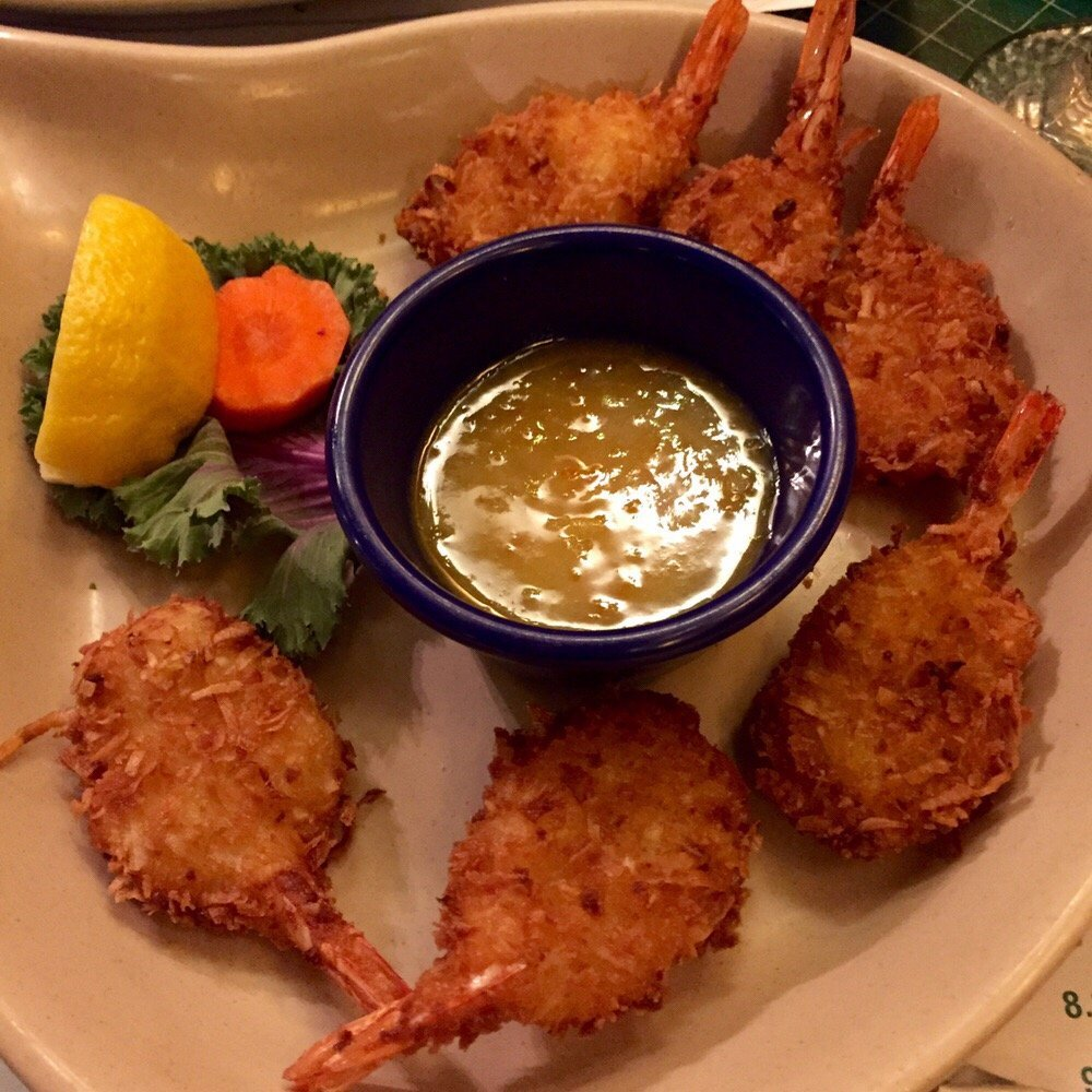 Popcorn shrimp from our dining out menu in Fairbanks, AK