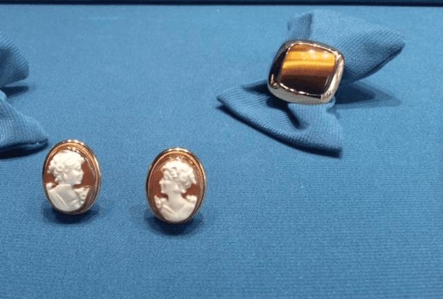 orecchini cameo