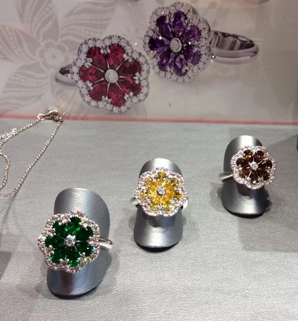 anelli fiore
