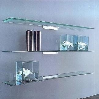 mensole di cristallo