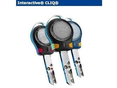 Interactive CLIQ key