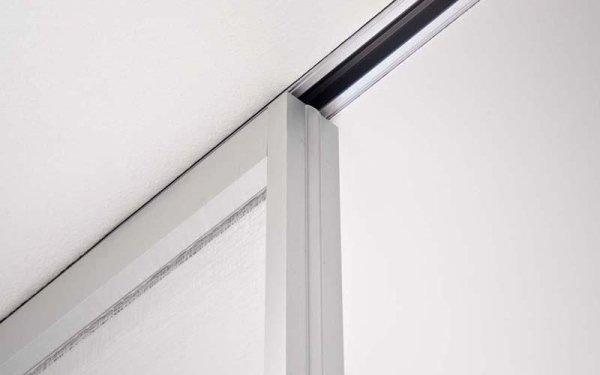 divisorio vetro e alluminio