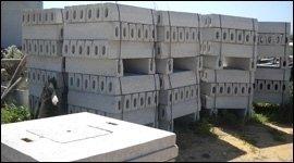 componenti in cemento
