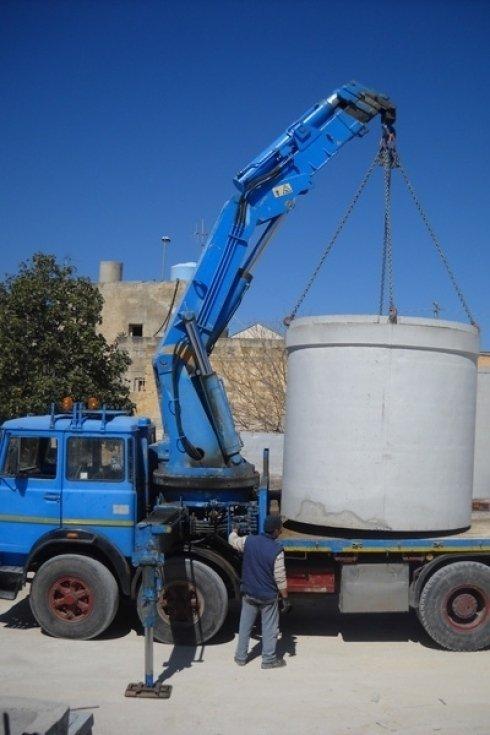 Trasporto cisterne acqua potabile