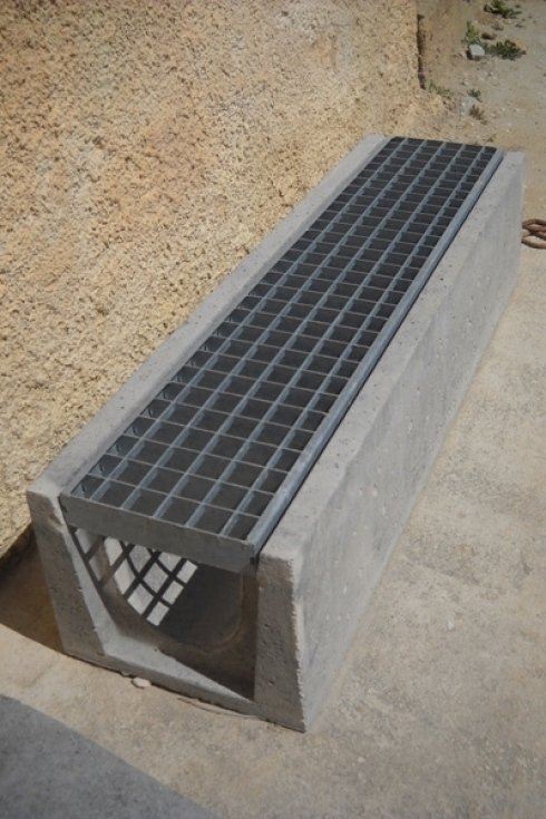 Griglie in cemento